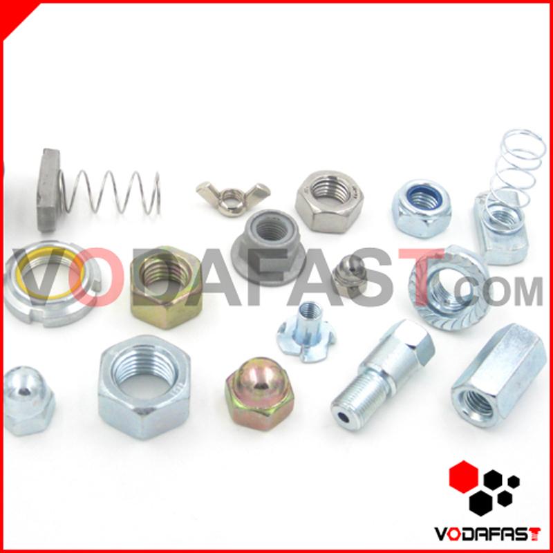 Nylon Insert Lock Nut Zinc Plated