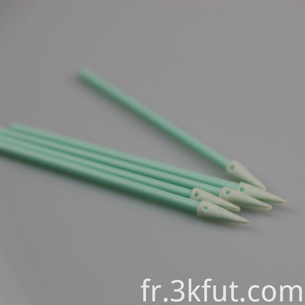 Dust-free Pointed Foam Swab