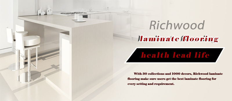 HDF White Oak Cherry Water Resistant Laminate Wood Laminated Flooring