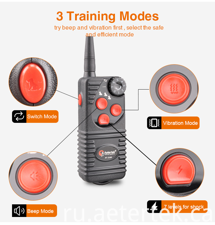 AT-216D Rechargeable Remote Dog Trainer