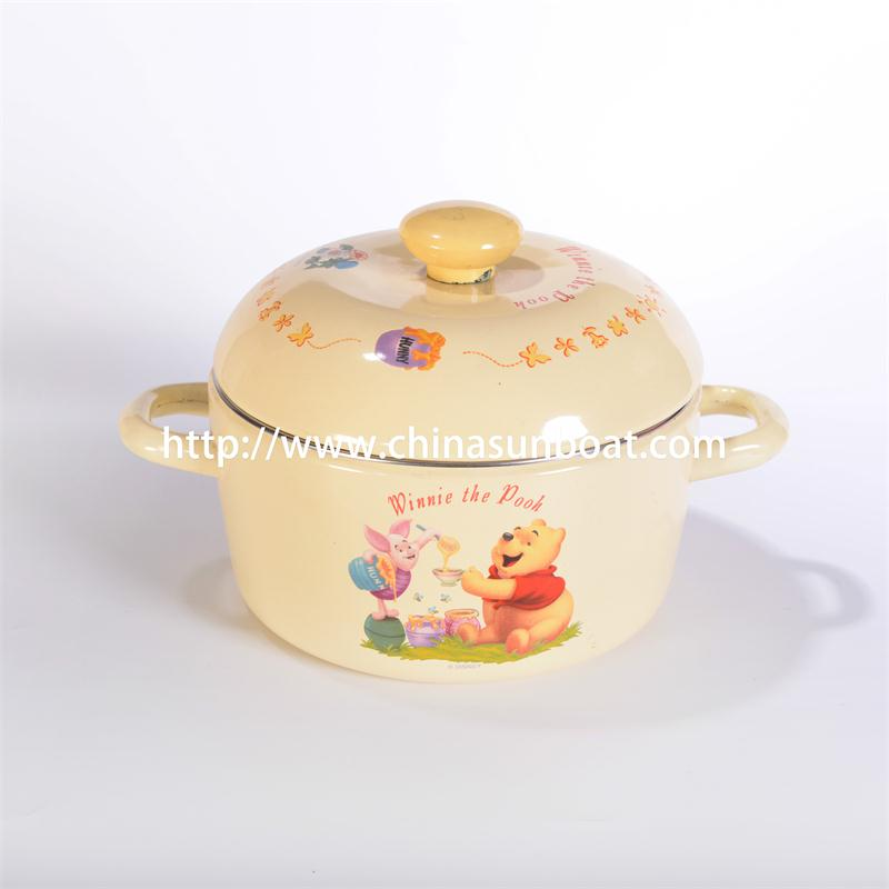 Enamelware for Kitchen Set Casserole Housewares Cookware