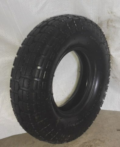Wheel Barrow Tire & Tube with Natural Rubber