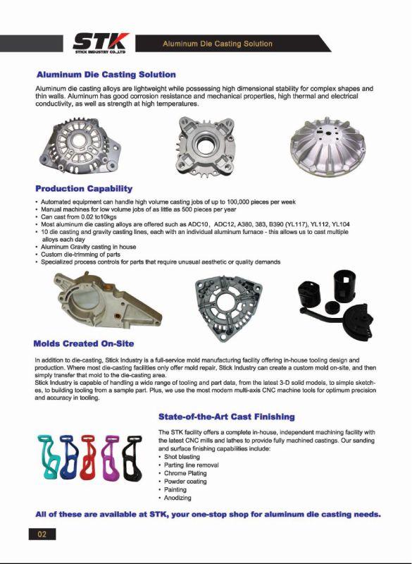 Powder Coating Aluminum Gravity Casting / Bent Leg Safety Stirrups