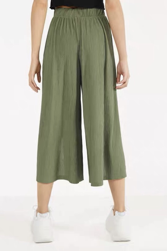 Long Wide Leg Pants