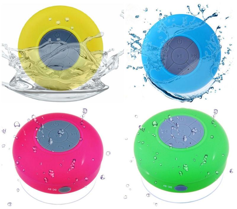 Factory Top Sell Portable Waterproof Bluetooth Mini Shower Speaker