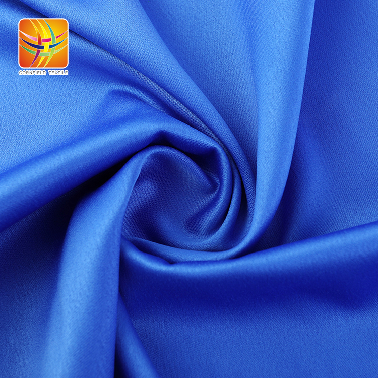 Soft Wrinkle Style Satin Fabric