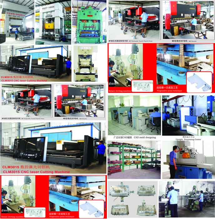 Sheet Metal Steel Laser Cutting Parts Service with Powder Coating