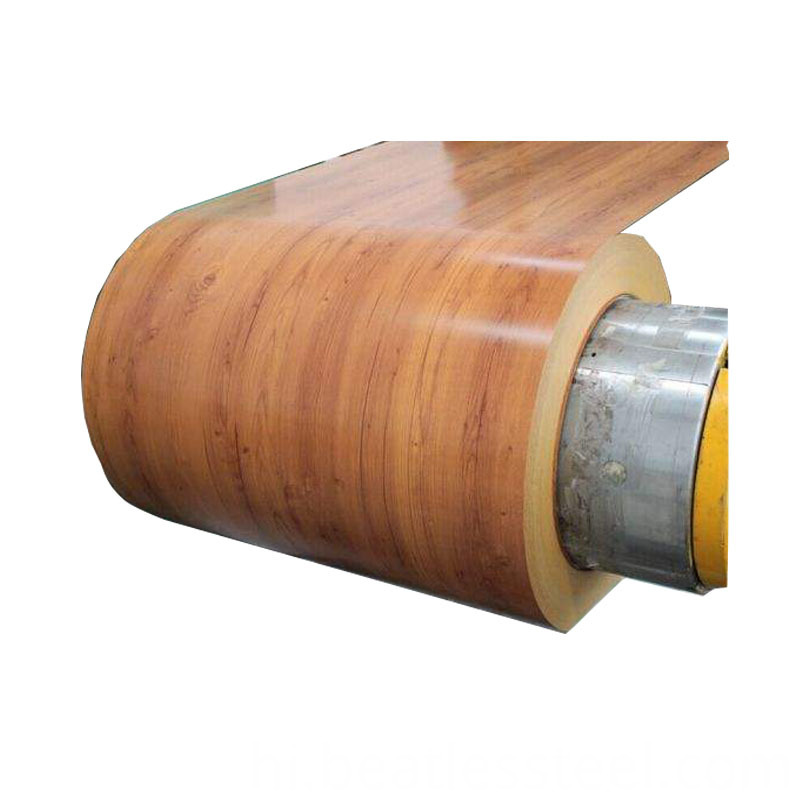 wood color Grain PPGI Raw Material