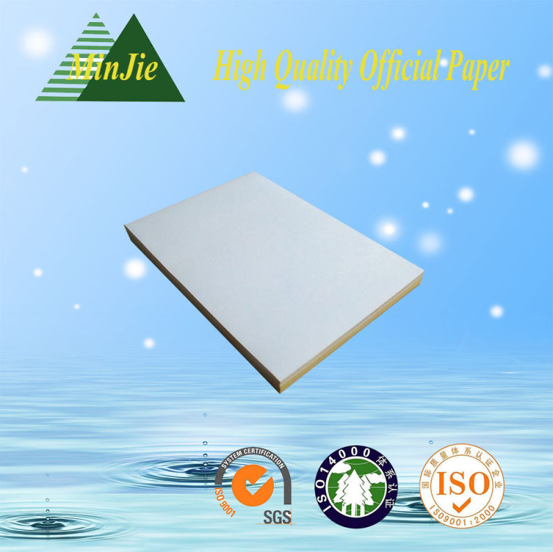 White Color and Copy Paper Type Brilliant Laser 80 Grams Copy Paper