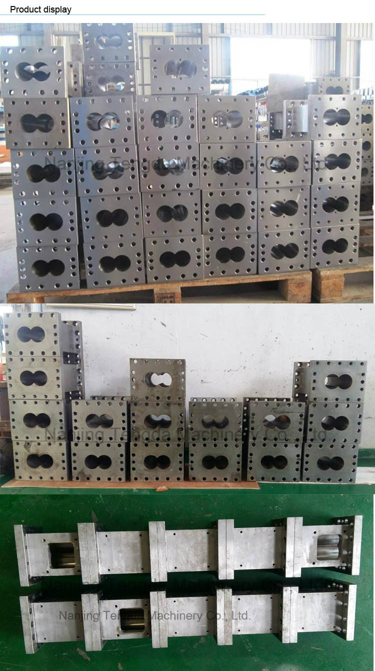 Rectangle Twin Screw Barrel for Extrusion Machinery