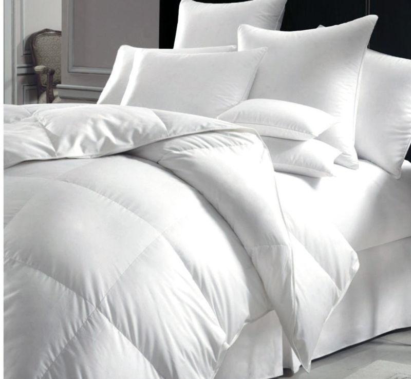 Hotel Poly Fiber Duvet for Bed Comforter White Quilt (DPF201618)