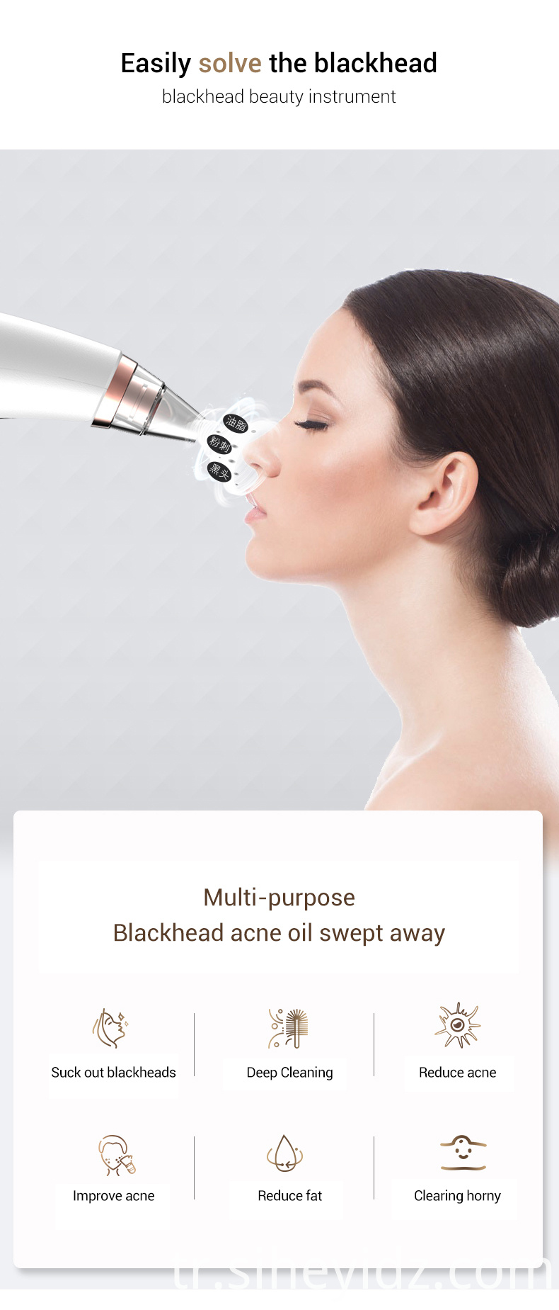 New Product Electric Black Head Remover Vacuum