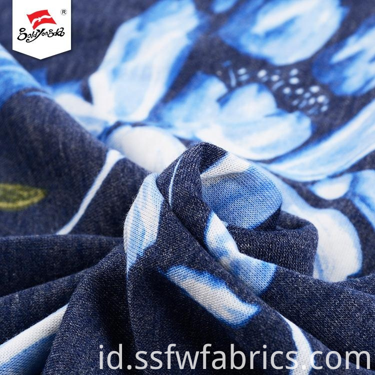 Good Quality Spandex Printed Fabric