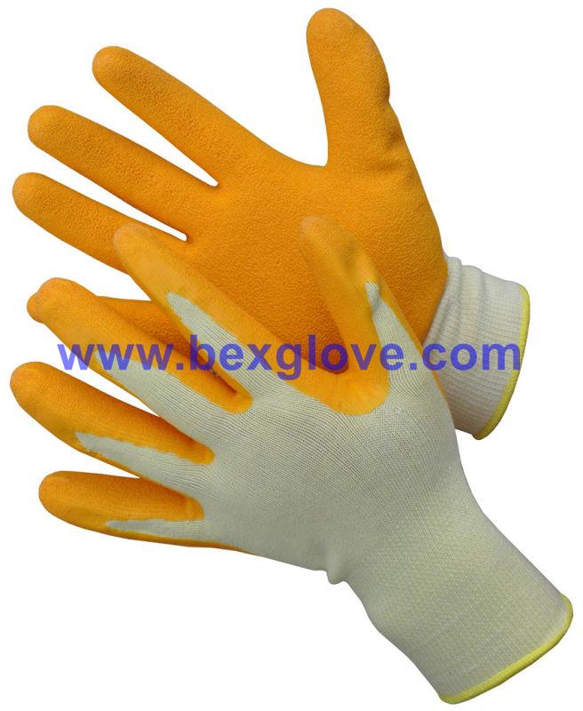 Latex Work Garden Glove