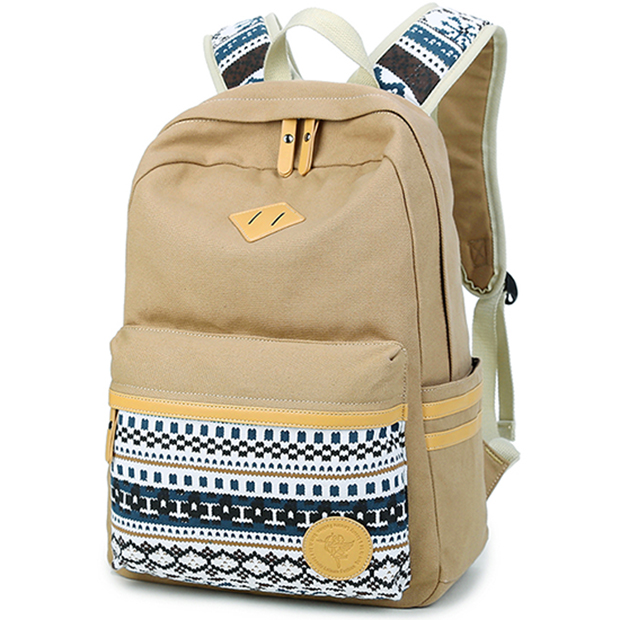 K8806 Fresion Unisex Schoolbags College Back Pack / School Backpack Fits Boys and Girls Teen Blue