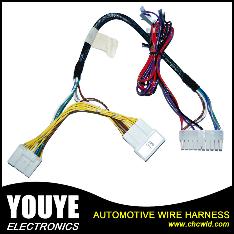 Alibaba COM Suppliers Automotive Wire Harness 3 Pin Connector Wire Harness