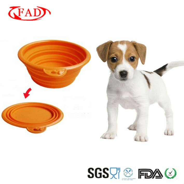 Folding Dog or Cat Bowl