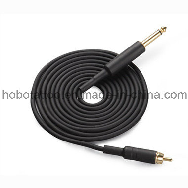 Hot Sale Tattoo Supplies Top Quality RCA Clip Cord for Tattoo Machine