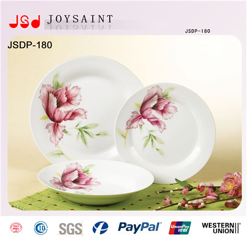Wholesale Embossed Restaurant Dinner Plates, Cheap White Dinner Plates for Restaurant, Cheap