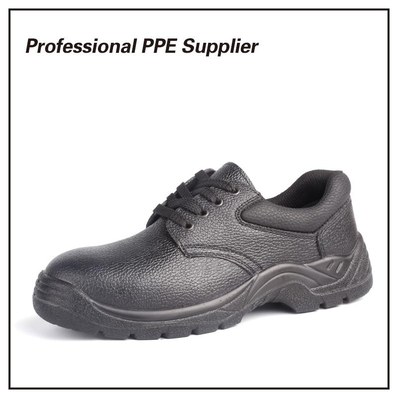 Ce Standard Buffalo Leather Safety Shoes