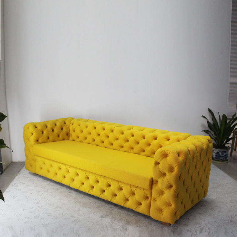 Living Room Sofa Set with Fabric Seat
