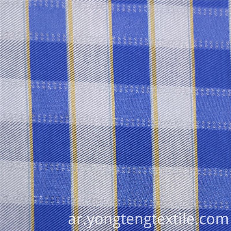Plaid Yarn Dyed Fabric