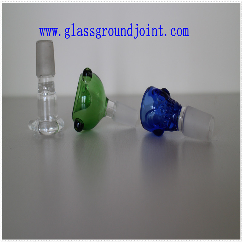 Glass Pipe with Ground Joint for Hookah