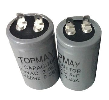Topmay AC 250V Motor Run Electrolytic Capacitor Cbb60 for Appliance