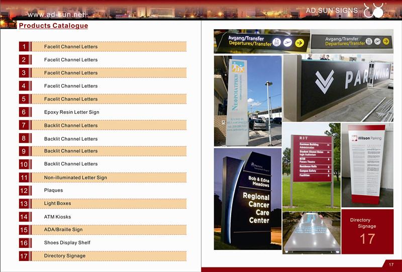 Hotel Directory Guide Door Room Number Sign Doorplates
