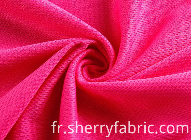 100% polyester weft knitted fabric