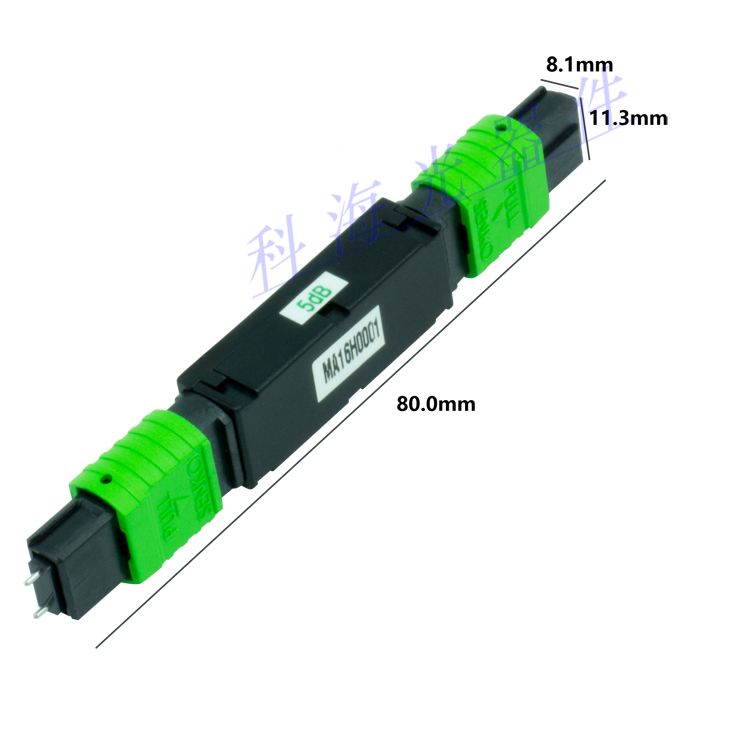 MPO Fiber Optic Attenuator for Data Connection