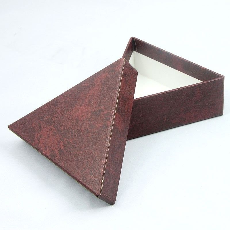 Decorative Handmade Triangle Carboard Packaging Gift Boxes