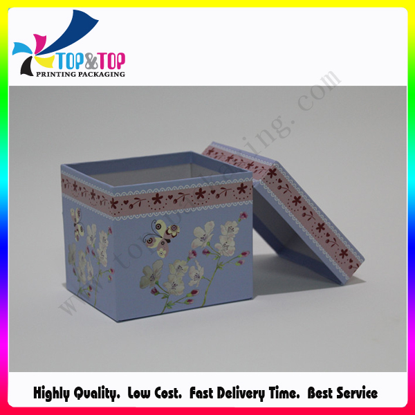 Colorful Paper Gift Packaging Box for Christmas