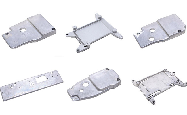 Various Aluminum Sewing Machine Parts for Side Cover
