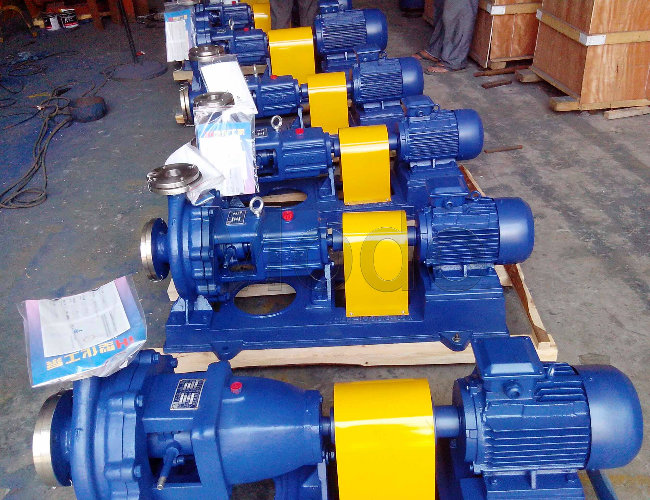 End Suction Chemical Pump for Coal Processing