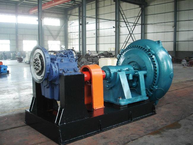 20inch Suction Sea Port Dredging Sand Pump