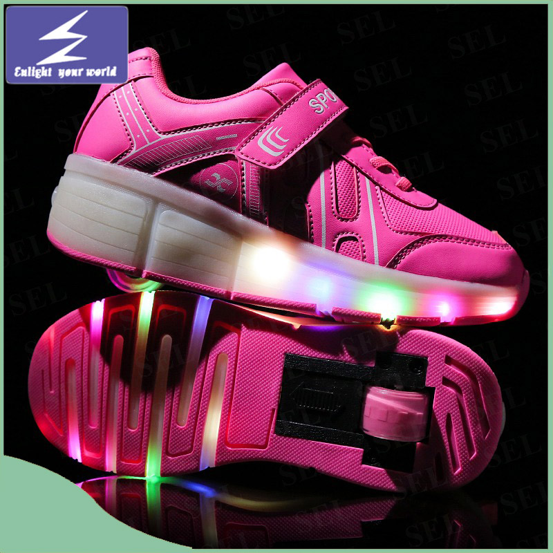 USB Charging Light LED Shoes with 11 Changeable Color