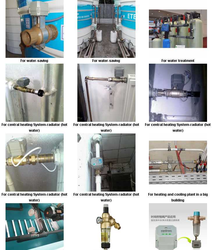 2 Way 4-20mA Stainless Steel Modulating Electric Motorized Proportionate Control Valve