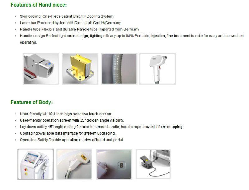 Beijing Diode Laser Lightsheer Laser Machine with Best Price