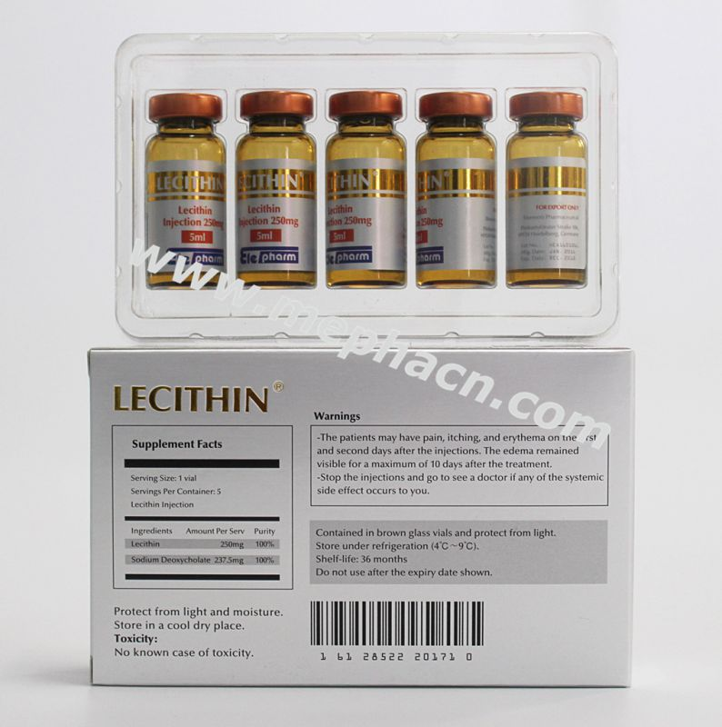 Lecithin for Body Weight Loss Treatment Use