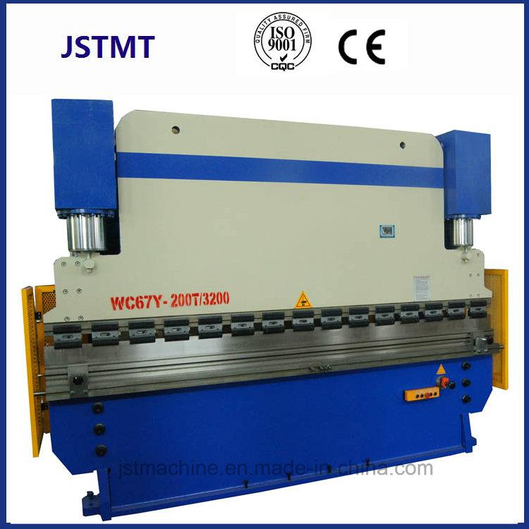 Metal Sheet Plate CNC Hydraulic Folding Machine for Sale (WC67Y-100T 3200)