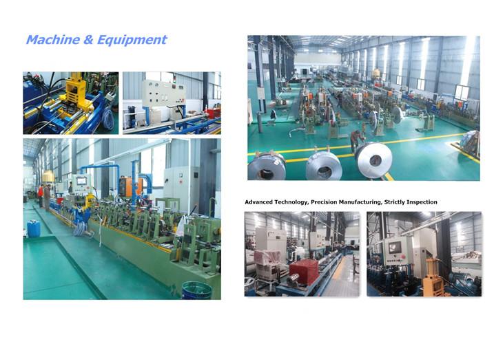 SUS304 En Stainless Steel Water Supply Pipe (15*0.6*5750)