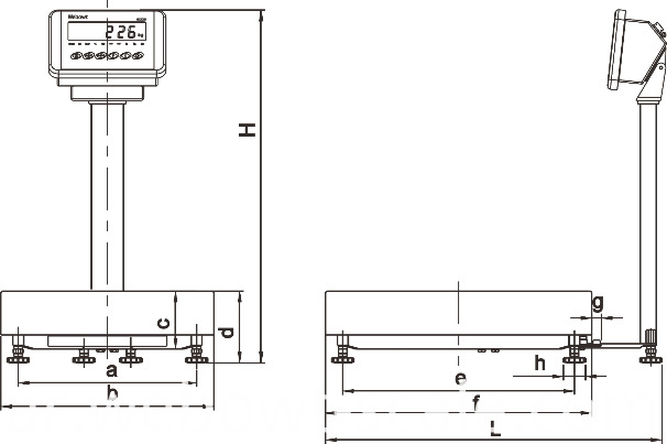 Stainless Steel Weighing System