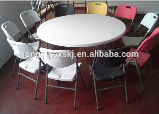 6FT Round Foldingtable Dining Table