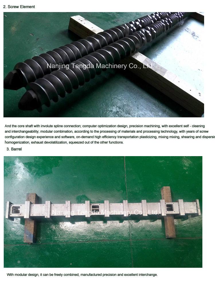 High -Torque Twin Screw Extruder for Granule