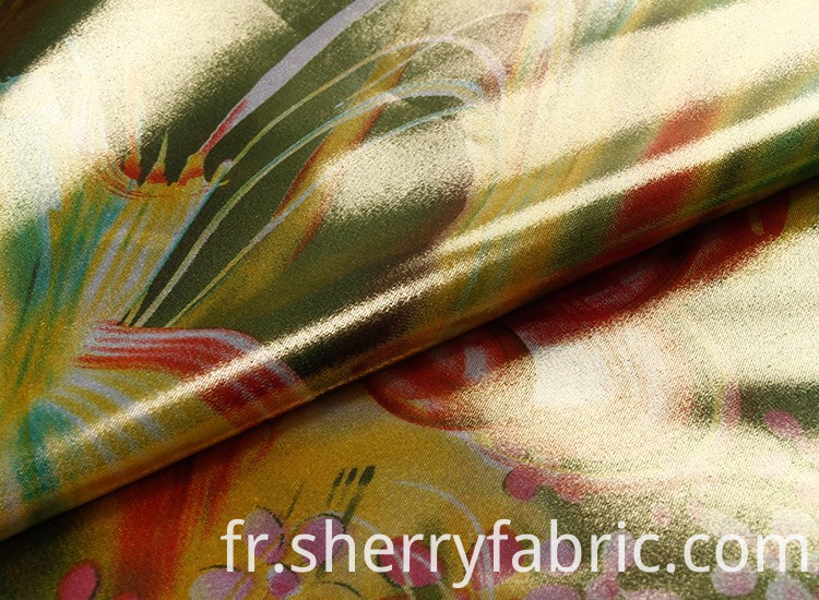 100 percent polyester fabric