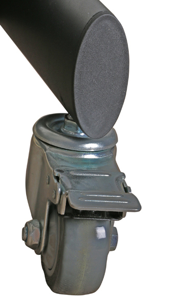 Metal TV Stand / Trolley Sav 107 Wheelbase Telescopic Tube 30-60