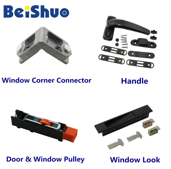 Hot Sale Hotel/House Supplies Crescent Profile Window Lock for Window Hardware