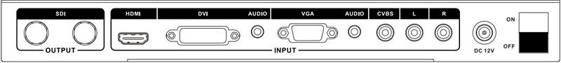All to Sdi Scaler Converter (HDMI+VGA+DVI+RCA to SDI)