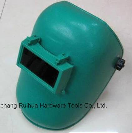 Lowest Brands of Welding Helmet with Lenses, Blue Simple Welding Mask, PP Material Mask, Senior Shading Level Welding Lens Welding Masks